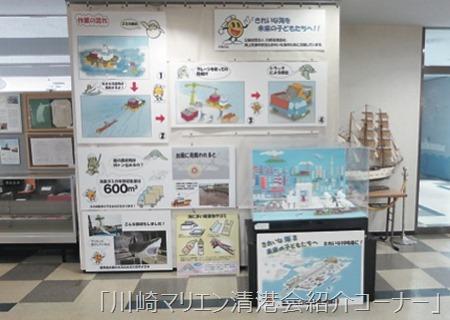 清港会事業についての展示